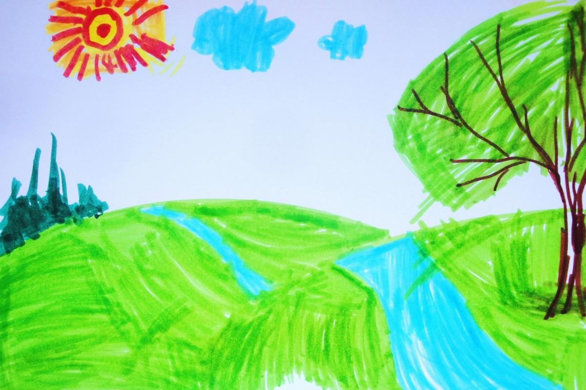 Как нарисовать весны
