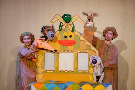 Шесть спектаклей для первого знакомства с театром :: Играем и развиваем :: Статьи