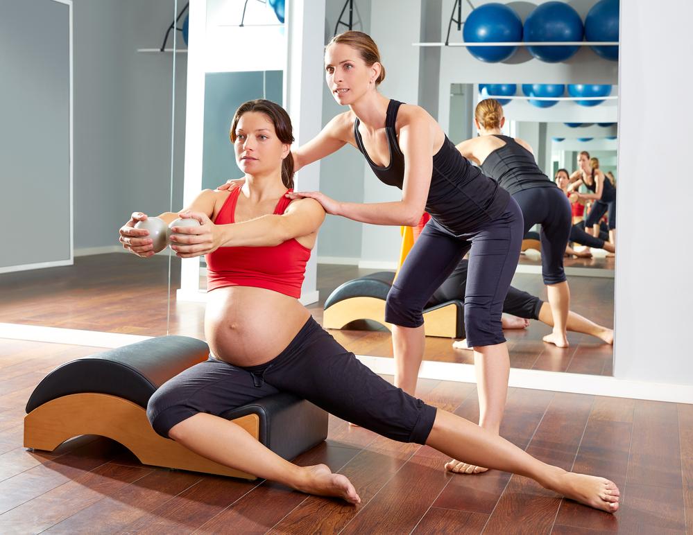 Беременные фитнес инструкторы