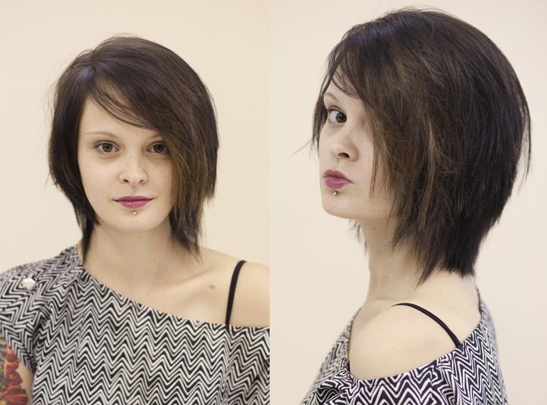 стрижки на отрастающие волосы фото