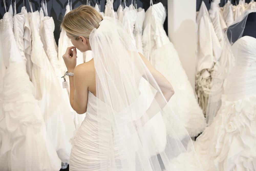 Фото выбора свадебного платья